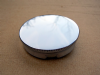 "Oil Tank Cap,Triumph,BSA etc, unvented, 2"" chrome."